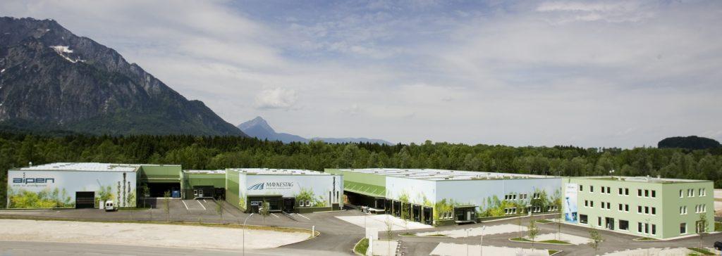 Siedziba firmy Alpen