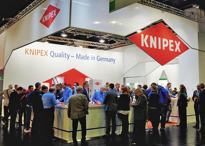 Stoisko firmy KNIPEX | fot. Knipex