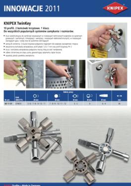 Klucz do szaf - Twin Key