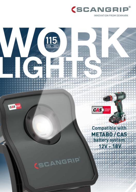 Scangrip CAS Work Lights